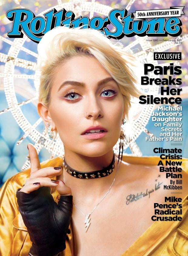 Paris Jackson na capa da Rolling Stone americana (Foto: Reprodução)