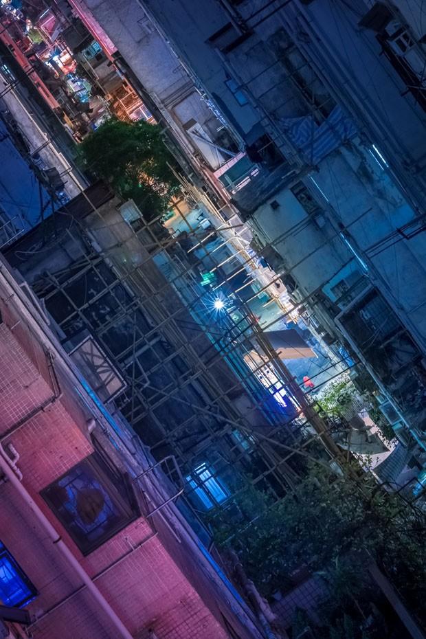 Fotógrafo captura imagens impressionantes da China de madrugada (Foto: Divulgação)