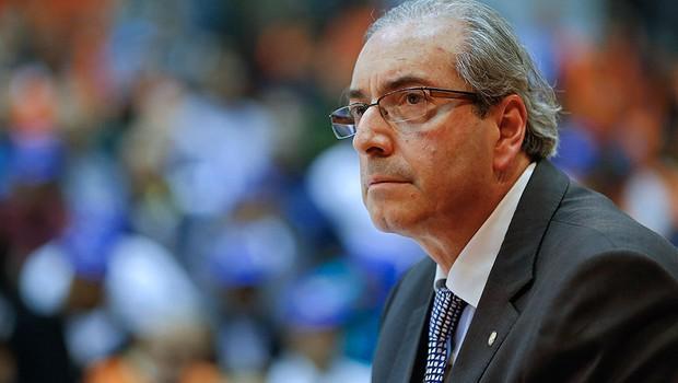 Eduardo Cunha em agosto de 2015 (Foto: AP Photo/Andre Penner)