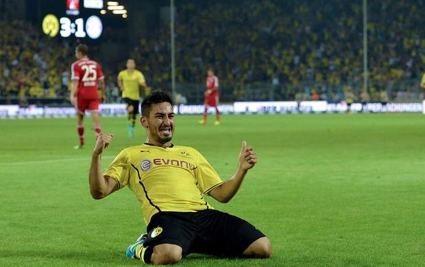 Ilkay Gündogan gol Borussia Dortmund x Bayern de Munique (Foto: Getty Images)