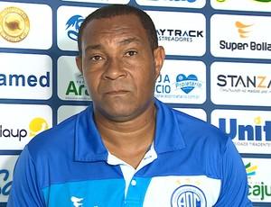 Batista; Confiança; entrevista (Foto: José Gilton / TV Sergipe)