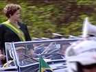 Dilma abre desfile da Independência em Brasília