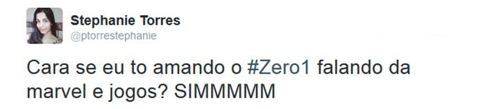 Internauta comenta o Zero1 na web (Foto: Reprodução da Internet)