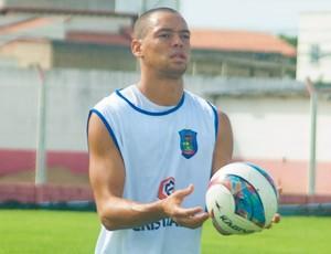 Zé Augusto, atacante do Linhares (Foto: Linhares NET)