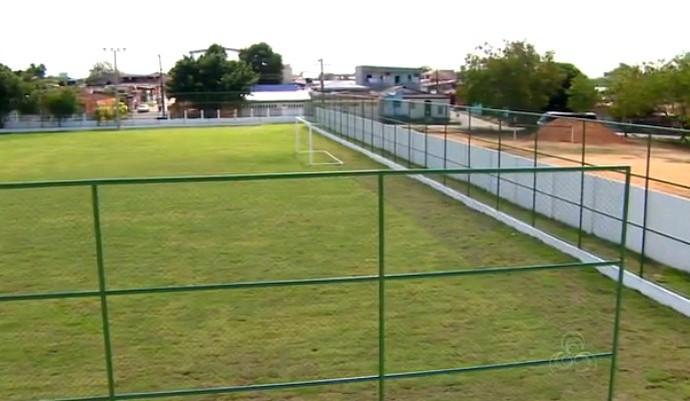 estádio oswaldo frota manaus (Foto: Reprodução/TV Amazonas)