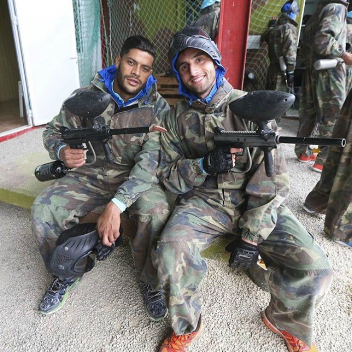 Hulk e Mauricio paintball Zenit