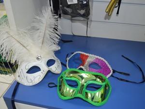 Preço das máscaras variam entre R$ 1 e R$ 25 nas lojas de Boa Vista (Foto: Bruna Cássia)