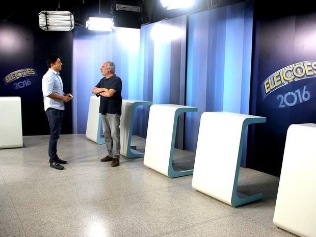 Debate na TV Mirante reúne cinco candidatos à Prefeitura de São Luís (Foto: De Jesus/O Estado)