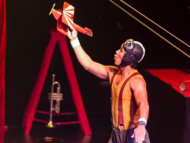 Espetáculo de circo Vai que eu vou (Foto: Paulo Barbuto/ Divulgação)