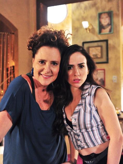 Elizabeth Savalla e Tatá Werneck (Foto: João Miguel Júnior/TV Globo)