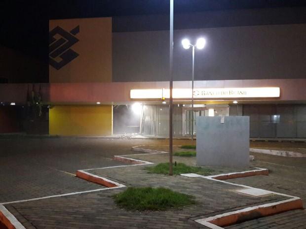 Agência do Banco do Brasil de Picos (Foto: Divulgação/Polícia Militar)