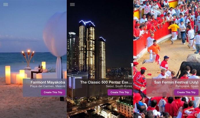 Planeje suas viagens e compartilhe com os amigos usando o Tripshare (Foto: Divulgação/AppStore)