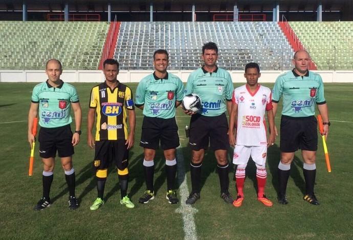 Betinense x Uberaba; Arena do Calçado; Módulo II; Mineiro (Foto: FMF/Divulgação)