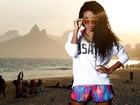 Luane Dias, do 'Esquenta!', mostra seu novo estilo e diz: 'Não sou nojenta'