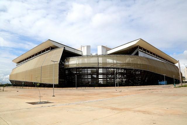 Relatório aponta que Arena Pantanal possui pendências nas áreas interna e externa (Foto: Divulgação/Gcom-MT)