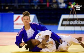 Irmã de Rafaela Silva, Raquel fatura a medalha de prata no Europeu de Judô