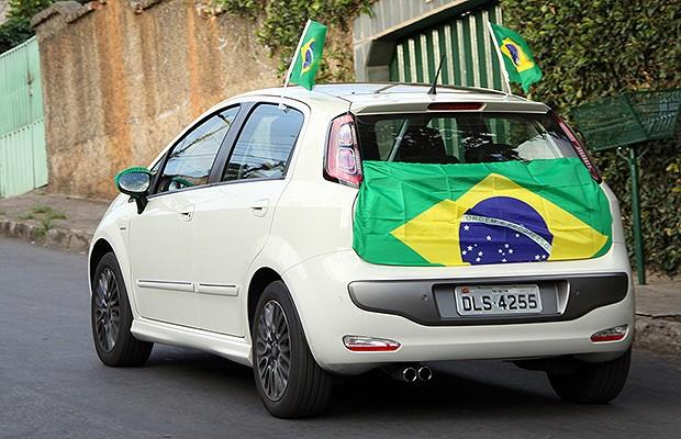 Dicas de decoração para o carro na Copa do Mundo (Foto: Marlos Ney Vidal/Autoesporte)