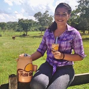 Luana Daubian, reponsável pelas mídias sociais do É Bem Mato Grosso (Foto: Arquivo pessoal)