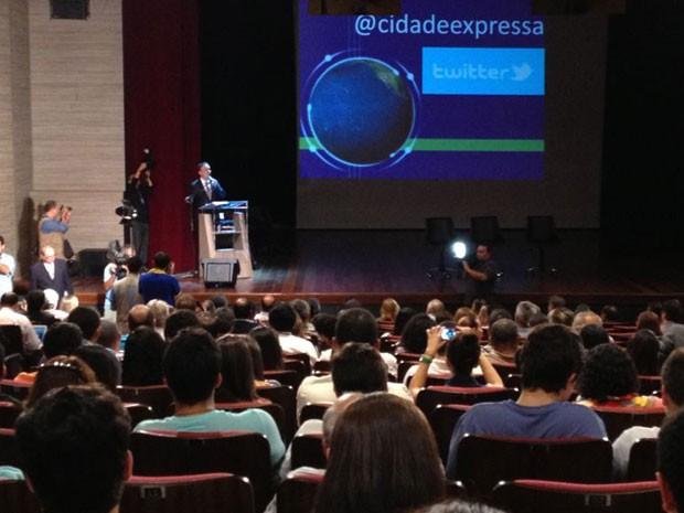 Seminário Cidade Expressa em Campina Grande (Foto: Caroline Marques/ Divulgação)