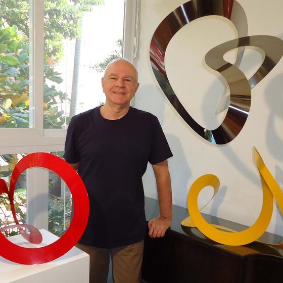 Wilson Piran comemora 40 anos de arte com nova exposição, na próxima semana  (Foto: Divulgação)
