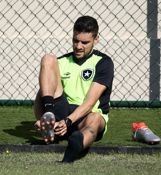 quase lá (Vitor Silva/SSPress/Botafogo)