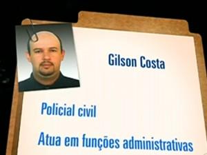 Gilson Costa (Foto: Reprodução / TV Globo / Fantástico)