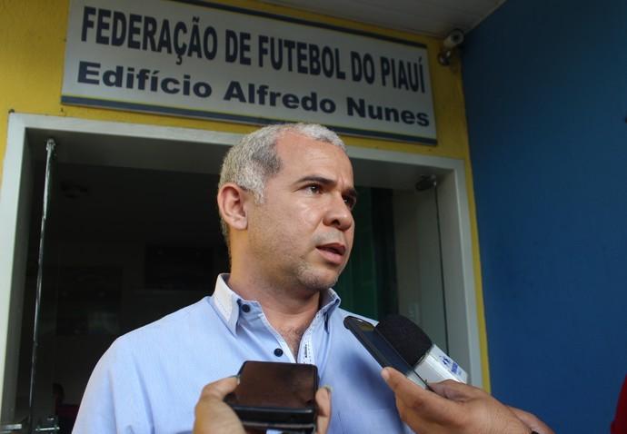 Tiago Vasconcelos, presidente do Flamengo na Federação (Foto: Joana D'arc Cardoso)