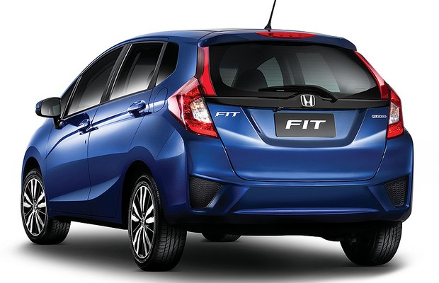 Novo Honda Fit EX (Foto: Honda)