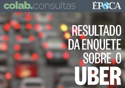 Resultado Uber (Foto: Revista Época/Divulgação)