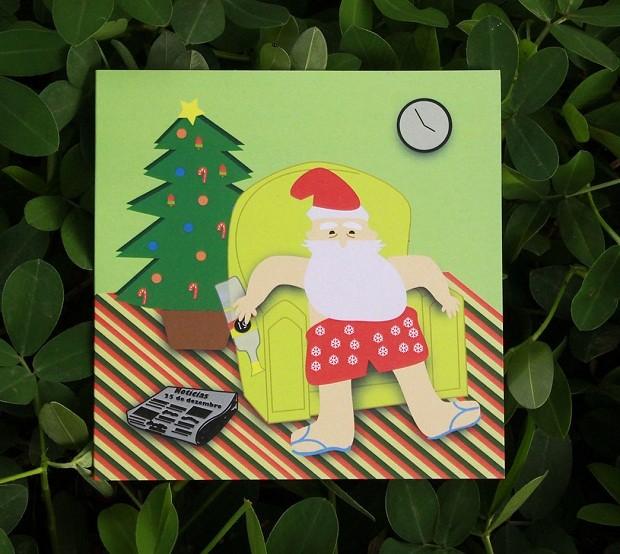 Cartão de Natal  (Foto: Divulgação)