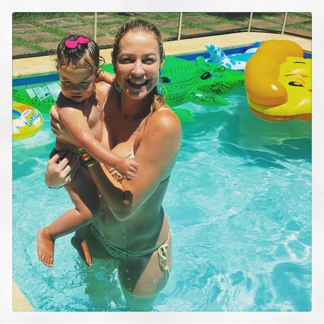 Luana com Liz em post anterior (Foto: Reprodução/Instagram)