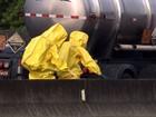 Caminhão tem vazamento de ácido sulfúrico na Anhanguera, diz Cetesb