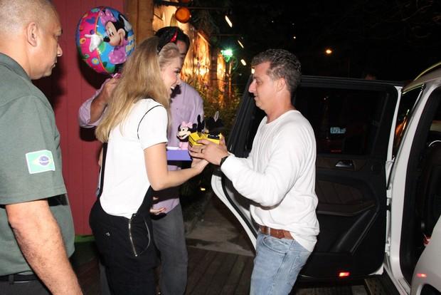 Aniversário da Eva Filha do Luciano Huck e Angélica (Foto: Dilson Silva e Rodrigo dos Anjos / AgNews)