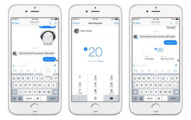 Aplicativo Messenger, do Facebook, permitirá envio de dinheiro (Foto: Divulgação/Facebook)