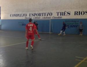 Três Rios e Mendes futsal (Foto: Cibele Moreira/TV Rio Sul)