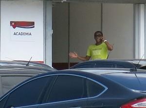 Treino Flamengo Elias (Foto: Raphael Zarko)