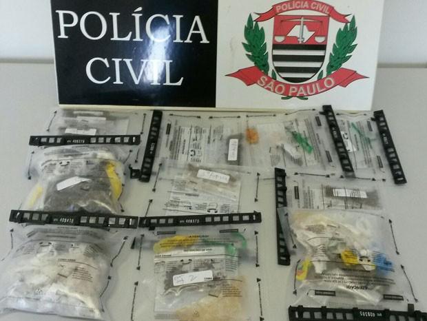 Os seis detentos responderão pelo crime de tráfico de drogas (Foto: Polícia Civil/Cedida)