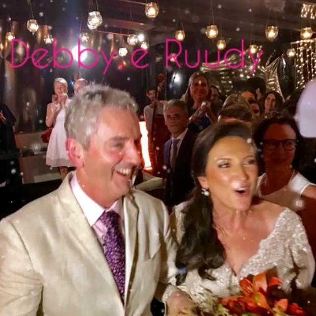 Débora Olivieri e o marido, Ruud Dankers  (Foto: Reprodução/Instagram)