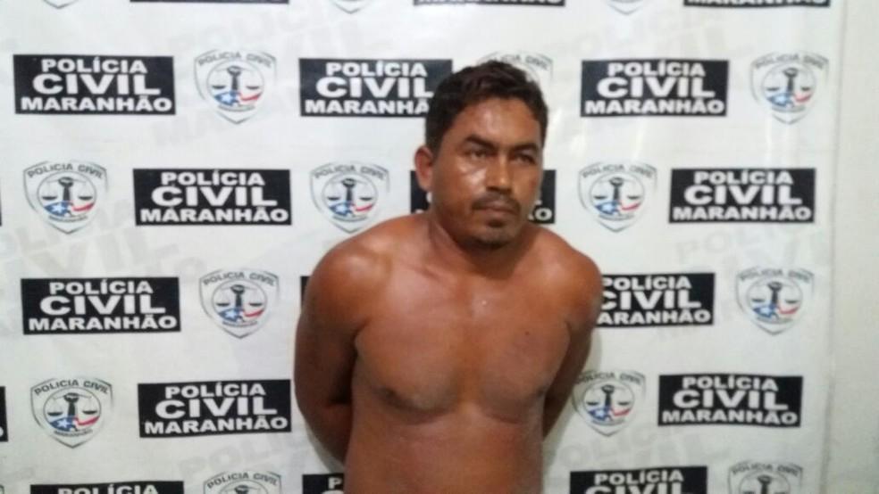 Willamy da Conceição foi preso em Barra do Corda (Foto: Polícia Civil)