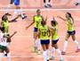 Brasil sofre com jovem italiana, mas reage com Natália e vence de virada
