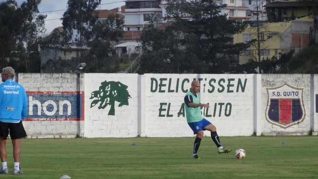 Cris foi contratado par aser o xerife do Grêmio na Libertadores (Foto: Hector Werlang/Globoesporte.com)