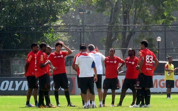dorival junior flamengo  treino (Foto: Janir Junior / Globoesporte.com)