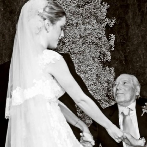 Fabiana Justus e o avô (Foto: Instagram/Reprodução)