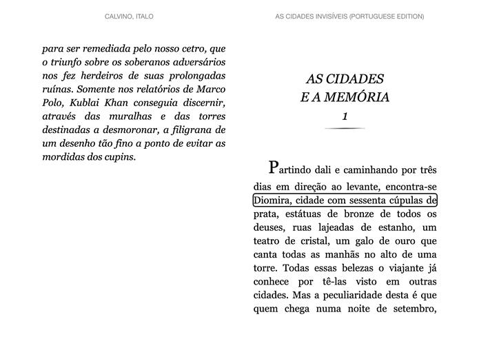 Toque em partes do texto com um dedo para repeti-las (Foto: Daniel Ribeiro / TechTudo)