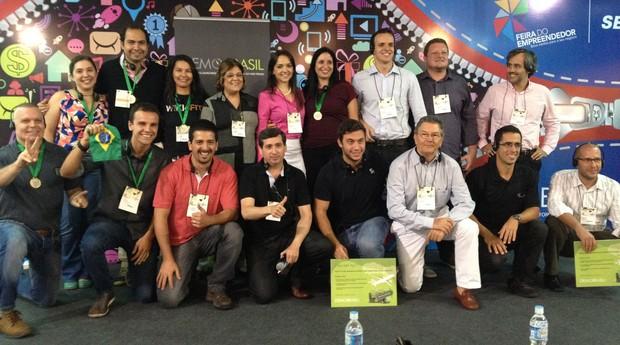 Participantes da etapa paulista da Demo Brasil (Foto: Divulgação)