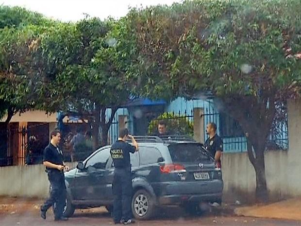 Operação Esculápio, deflagrada pela Polícia Federal em Mato Grosso. (Foto: Reprodução/TVCA)