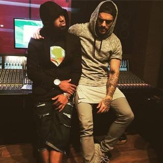Nego do Borel e Lucas Lucco gravam música juntos (Foto: Divulgação)