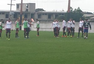 Treino Flamengo Ninho (Foto: Fred Gomes)