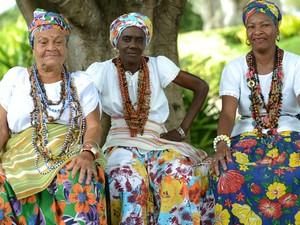 Grupo tem finalidade de manter vivo os costumes e tradições de Itapuã (Foto: Ricardo Prado/Divulgação)