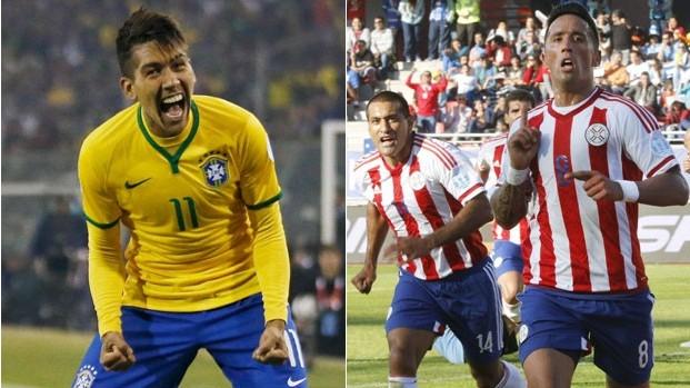 Brasil enfrenta o Paraguai pelas quartas de final da Copa América (Foto: Reuters/EFE/Juan Carlos Cárdenas)
